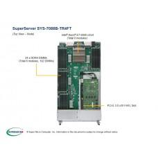 SYS-7088B-TR4FT vooraanzicht