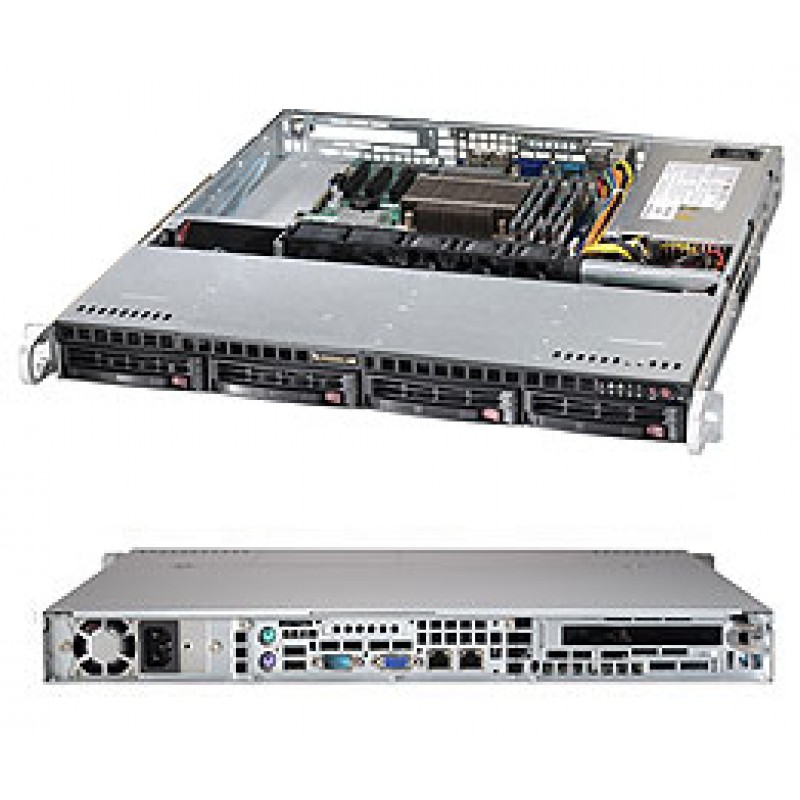 Supermicro CSE-813MT-350CB