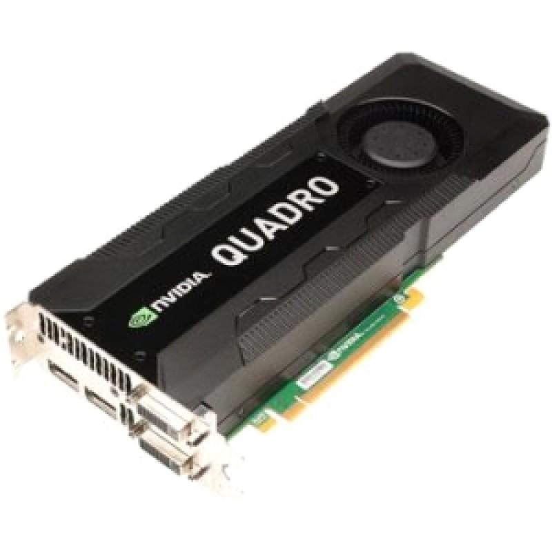 PNY PNY Quadro K5000 PCI-Express x16 2.5 GB GDDR5 320-bit SLI SDI HDCP and HDMI 1.3a support 2xDisplay Port 1x DVI-I (DL)