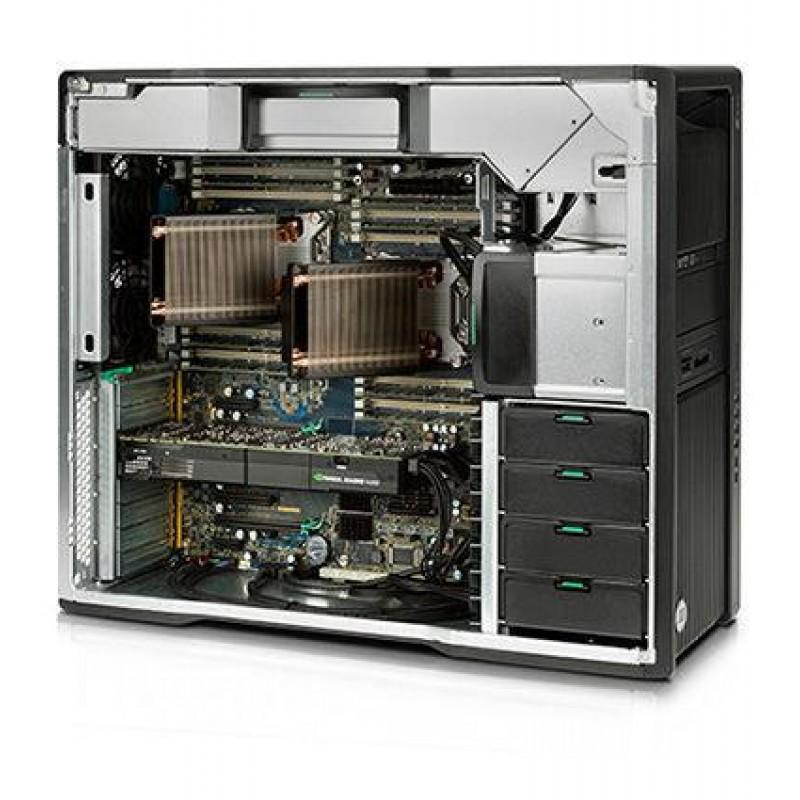 HP HP Z640 MT 8Core Xeon E5-2630v3 (2.4-3.2) 16GB (2x8) 256GB/PCIe/SSD DVD+/-RW MCR Win7Pro64+Win8PROlicence NO GRAPHICS