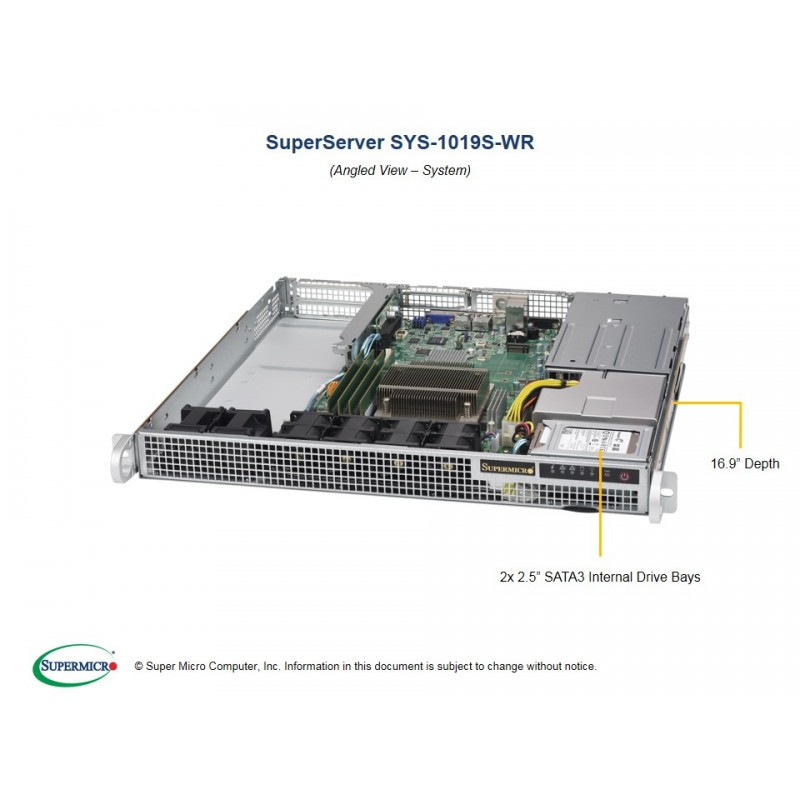 Supermicro SYS-1019S-WR