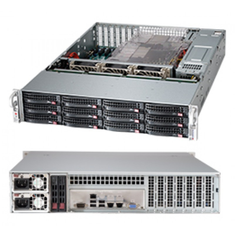Supermicro CSE-826BE26-R1K28LPB