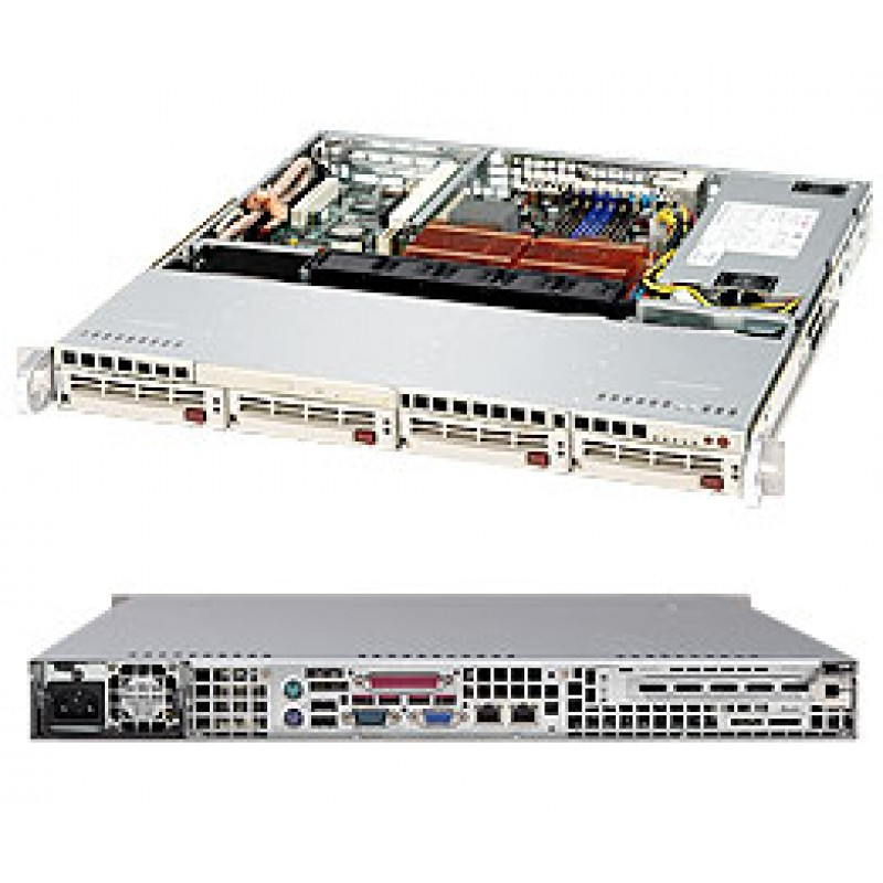 Supermicro CSE-813MS-520C CSE-813MS-520CB