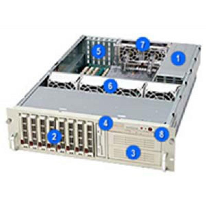 Supermicro CSE-833T-R760CSE-833T-R760B
