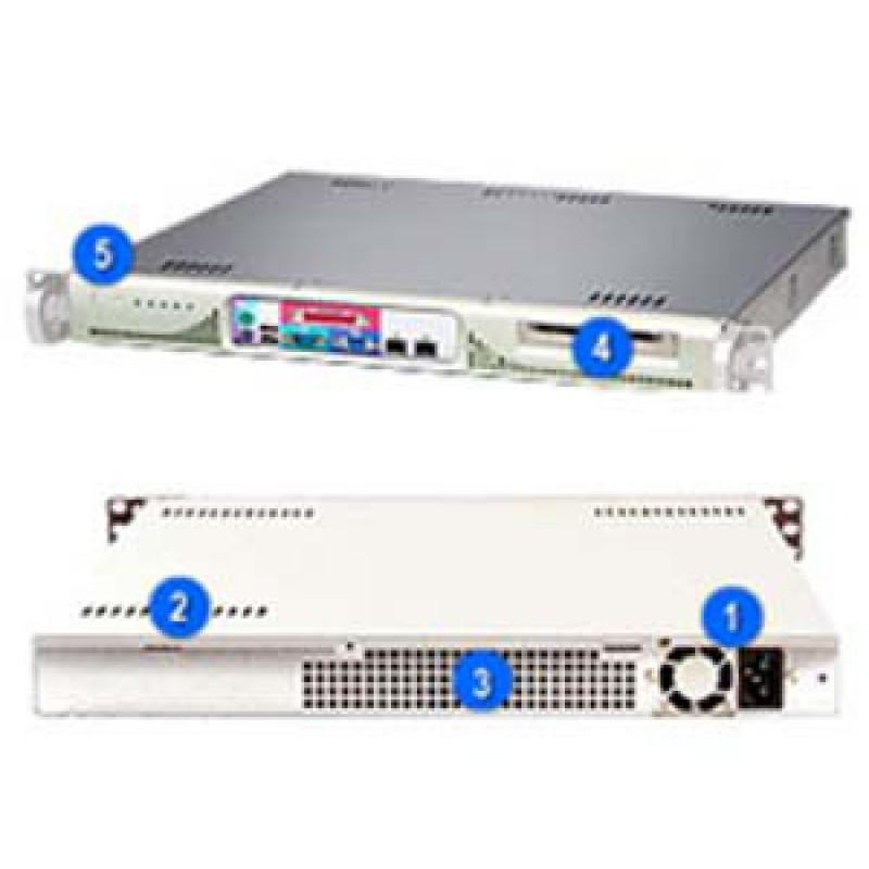 Supermicro CSE-513L-260CSE-513L-260B (No CDRom,FDD, & Rails)