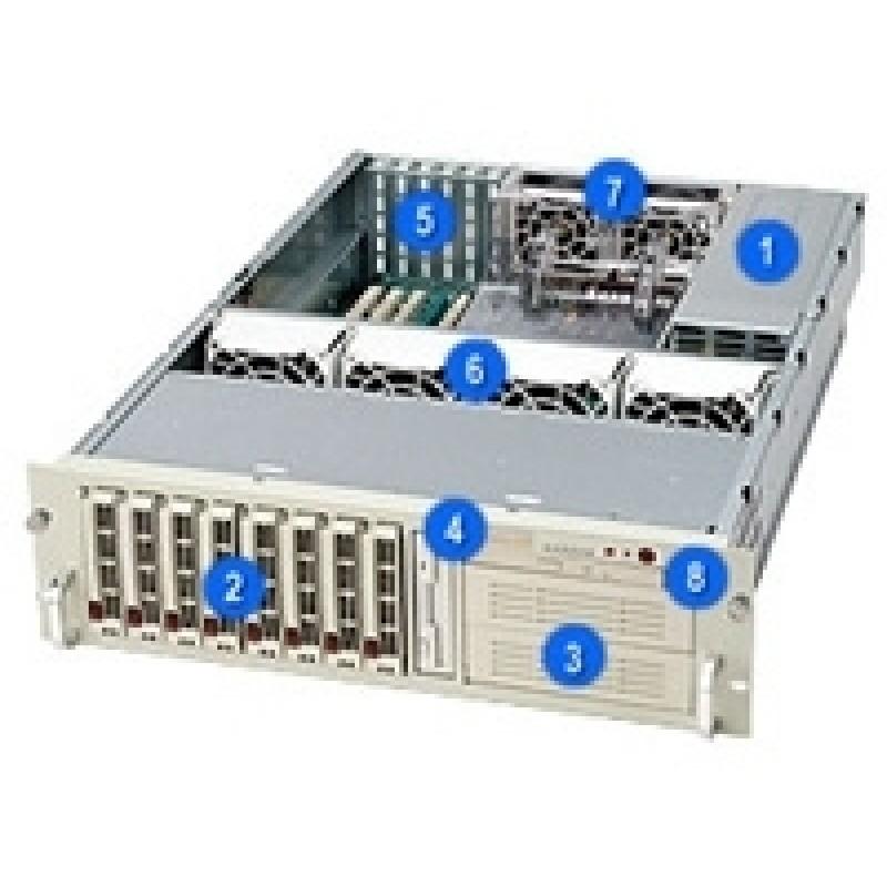 Supermicro CSE-833S-R760CSE-833S-R760B