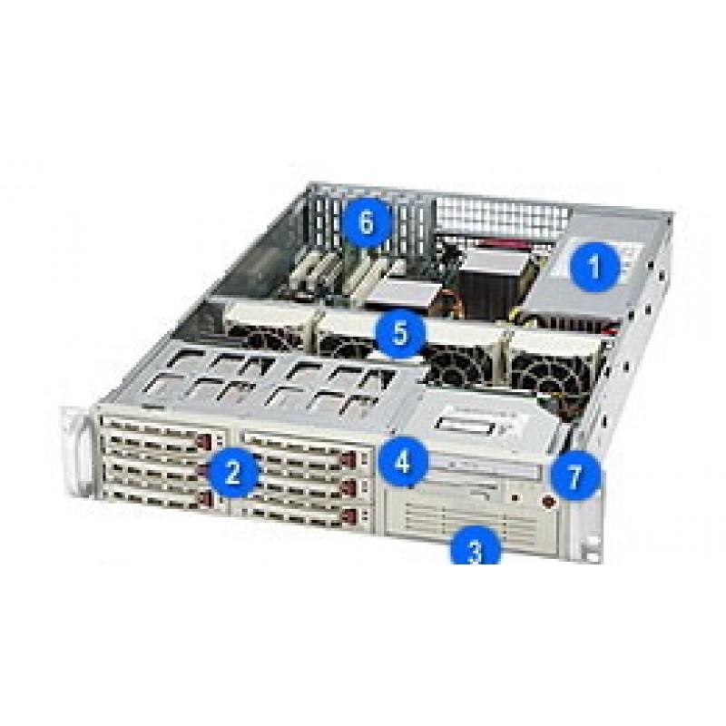 Supermicro CSE-822S-R400LPCSE-822S-R400LPB