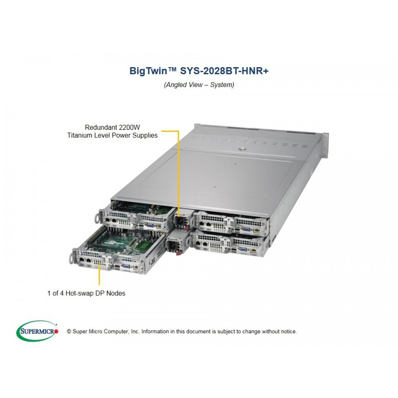 Supermicro SYS-2028BT-HNR+