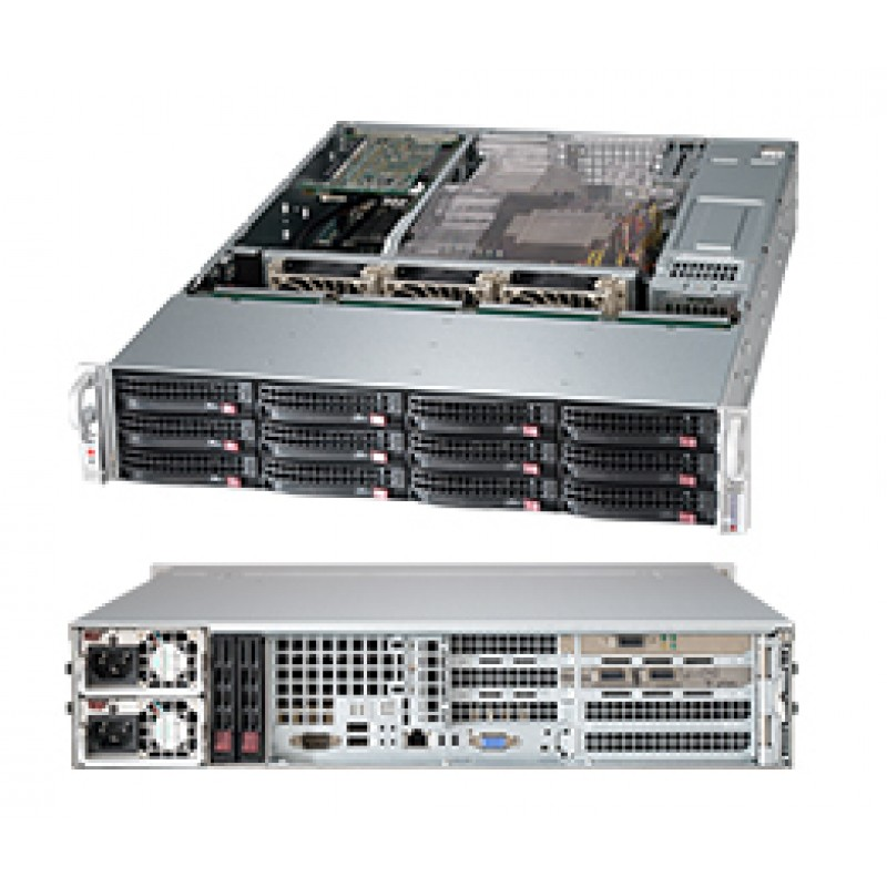 Supermicro CSE-826BE16-R1K28WB