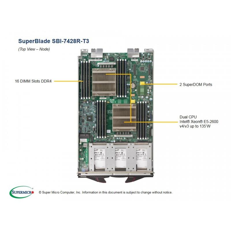 Supermicro SBI-7428R-T3