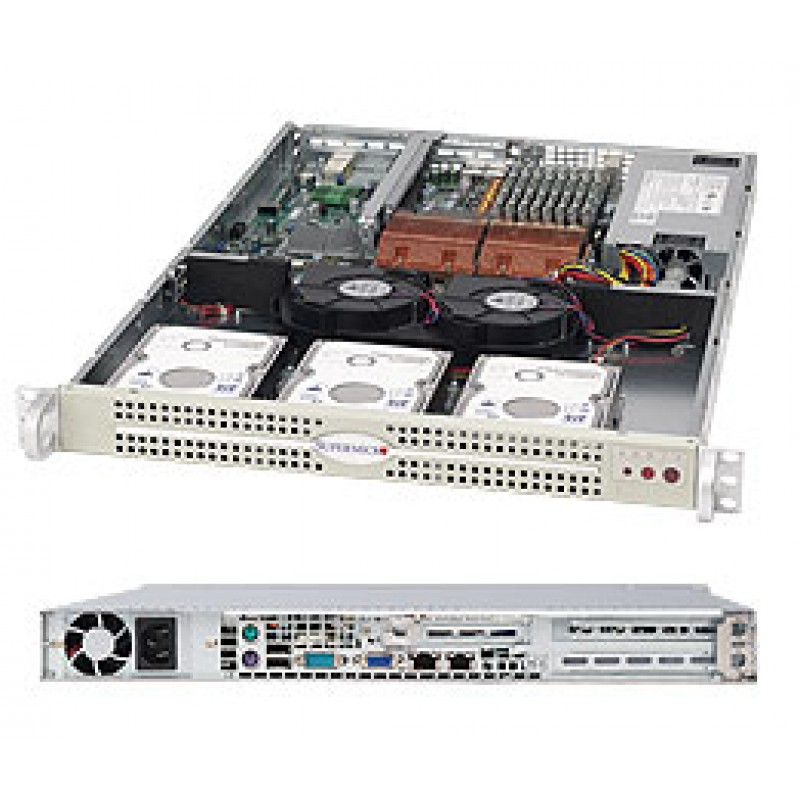 Supermicro CSE-812L-520U CSE-812L-520UB
