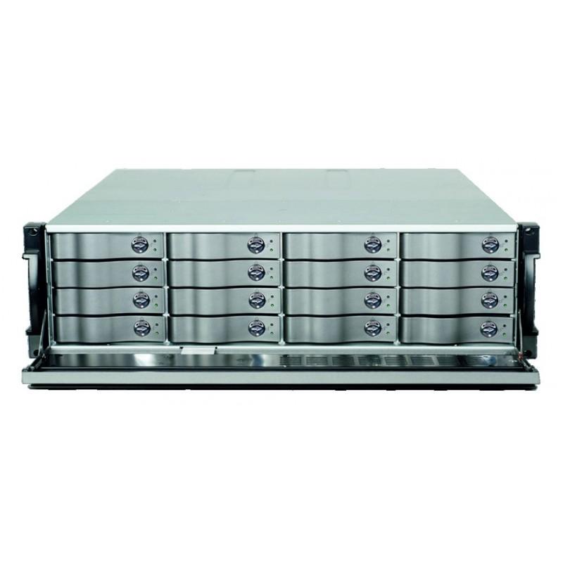 EasyRAID ERM16R-10GR3 64TB 4x 10GbE + 4x 1GbE iSCSI, dual controller