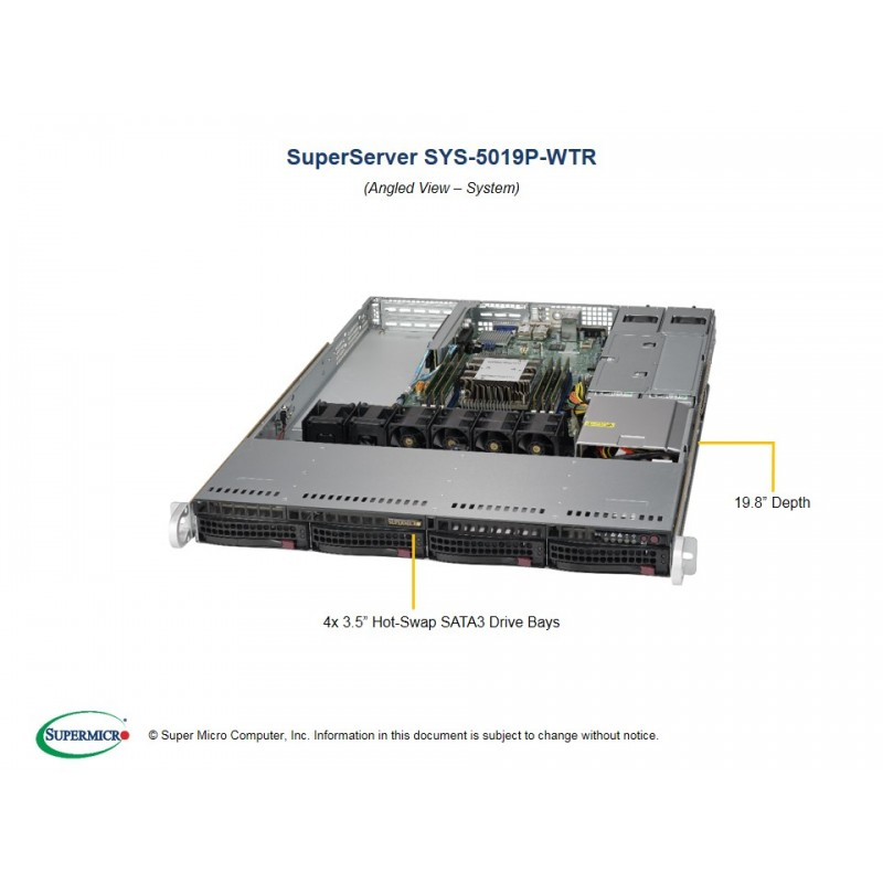 Supermicro SYS-5019P-WTR