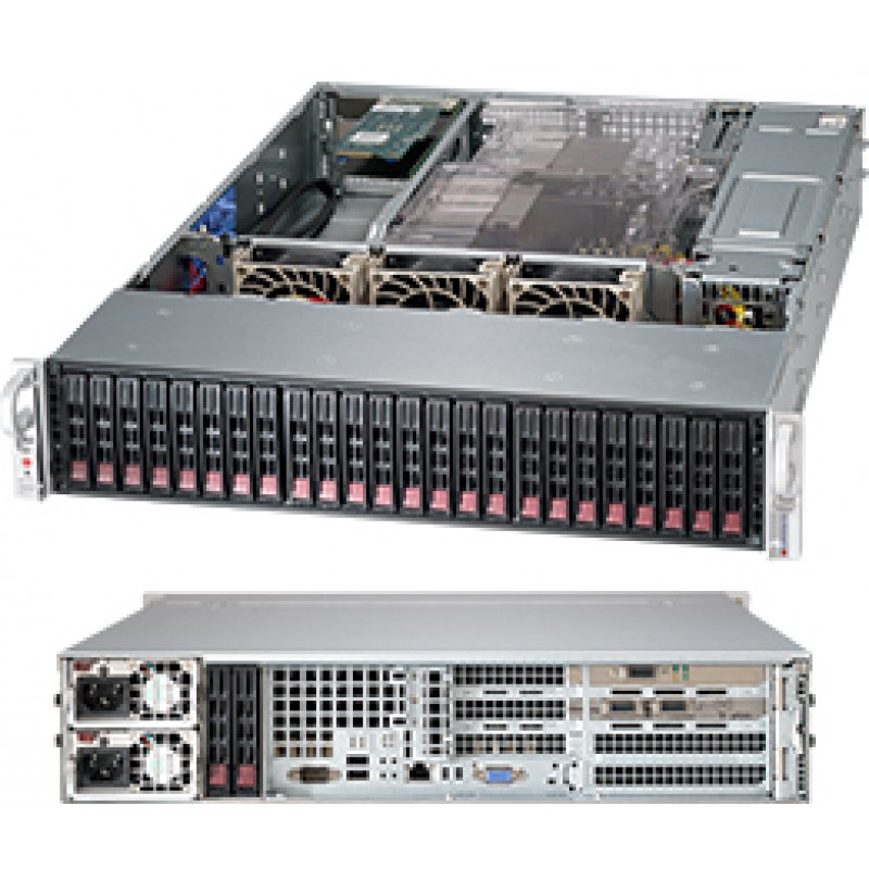 Supermicro CSE-216BE16-R1K28WB