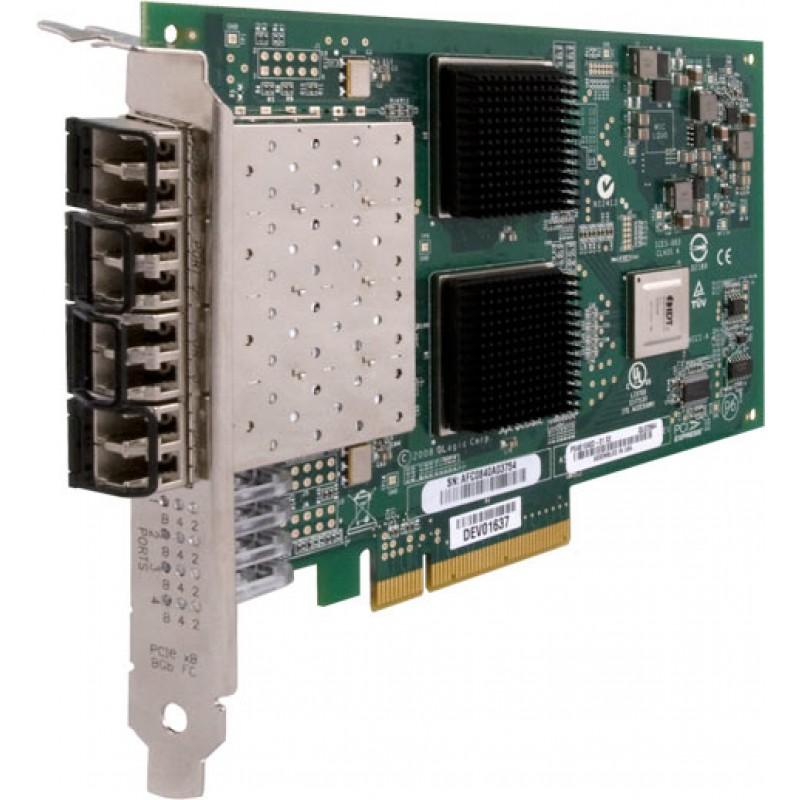Qlogic QLE2564-CK Quad Port Fibre Channel 8Gb