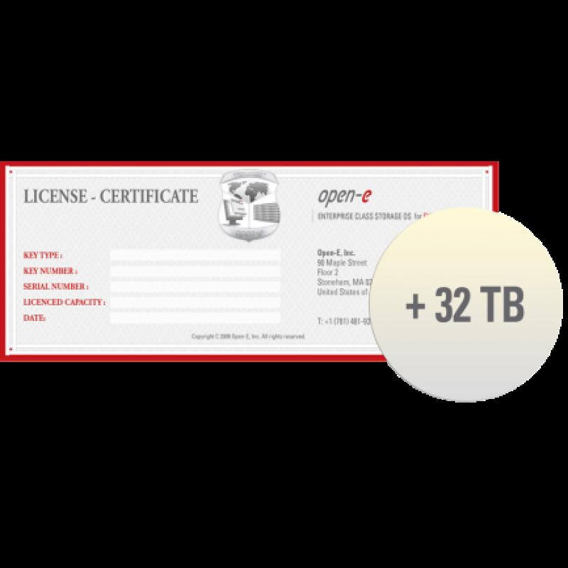 Open-E Storage Extension +32TB