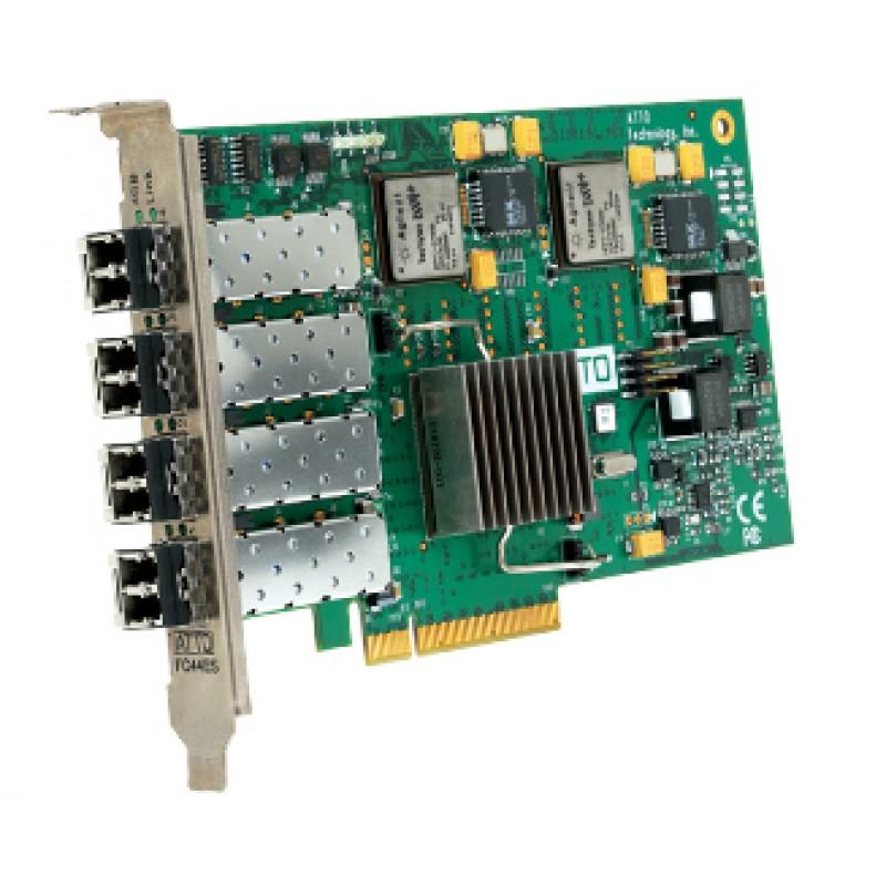 ATTO FC-44ES Quad Port Fibre Channel 4Gb