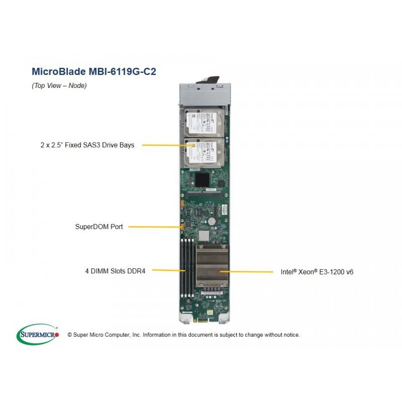 Supermicro MBI-6119G-C2