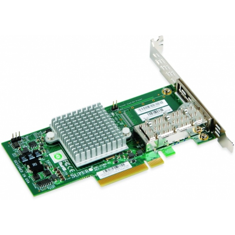 Supermicro AOC-UIBQ-M1 Single Port 40Gbps InfiniBand Adapter