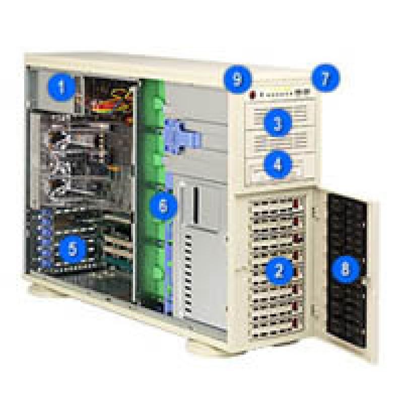 Supermicro CSE-743T-645 CSE-743T-645B