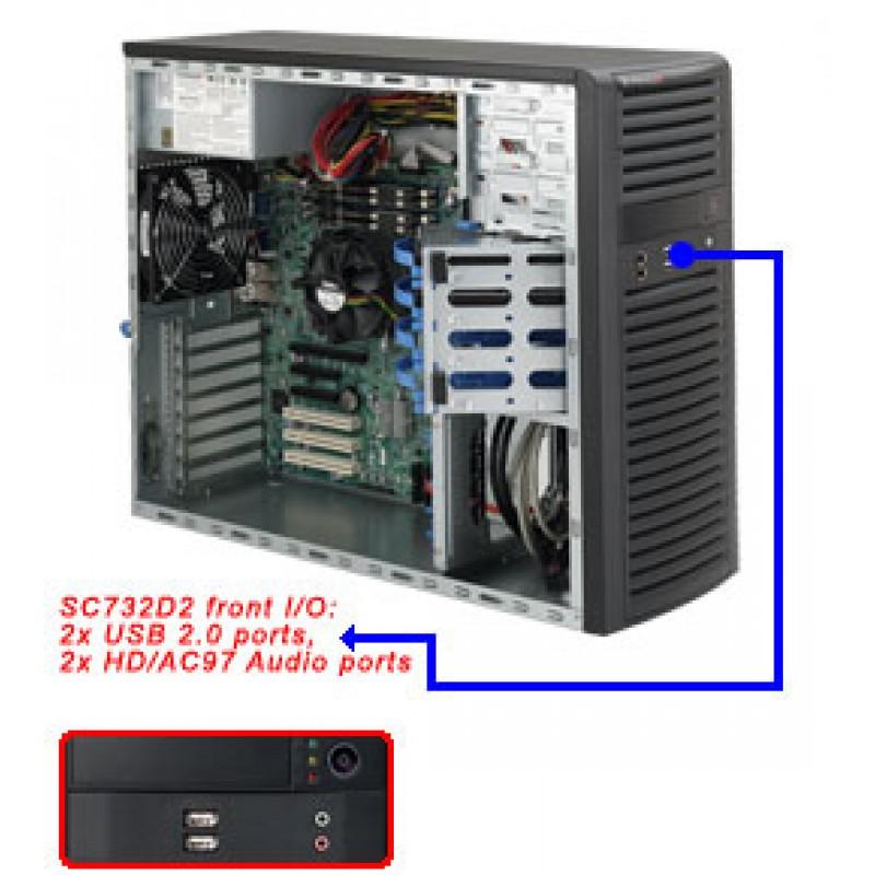 Supermicro CSE-732D2-903B