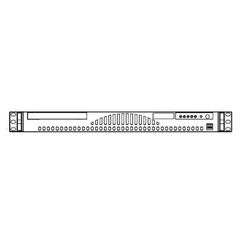 Supermicro CSE-512L CSE-512LB (No CDRom,FDD, & Rails)