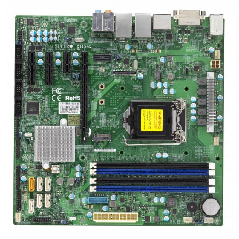 Supermicro MBD-X11SSQ-B